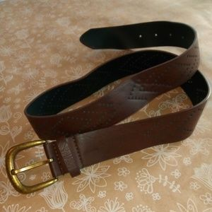 Moca Perforated Belt Sz 5